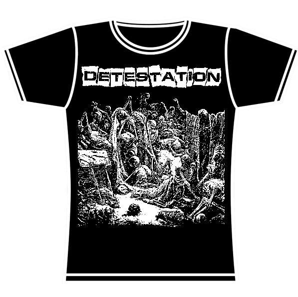 DETESTATION GIRLS TSHIRT