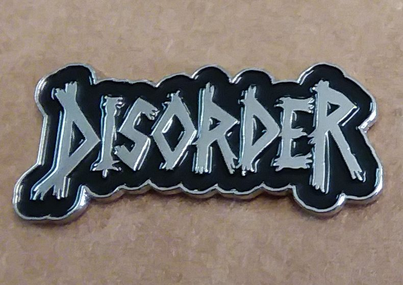 DISORDER ENAMEL BADGE