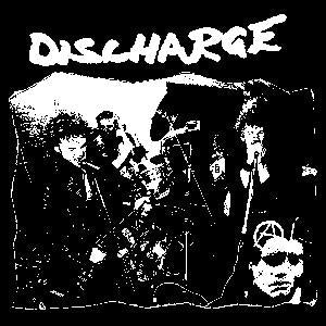 DISCHARGE PIC sticker