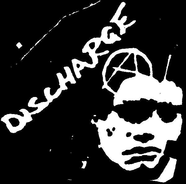 DISCHARGE BLACK patch