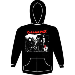 DISCHARGE PIC hoodie
