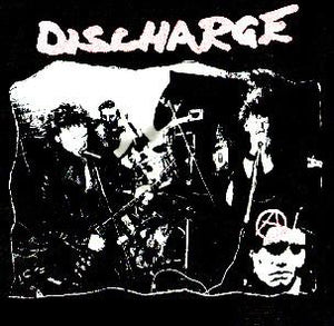 DISCHARGE PIC back patch