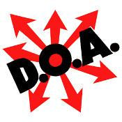 DOA sticker