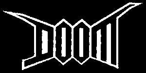 DOOM LOGO sticker