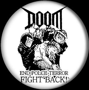 DOOM END POLICE button