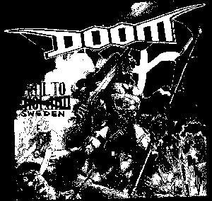 DOOM SWEDEN back patch