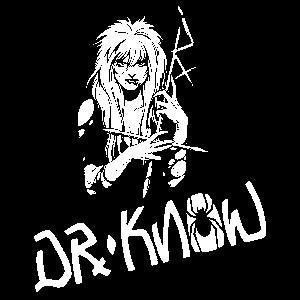 DR KNOW sticker