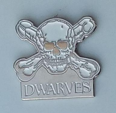 DWARVES ENAMEL BADGE