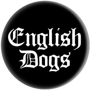 ENGLISH DOGS LOGO button