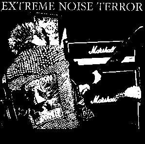 EXTREME NOISE TERROR back patch