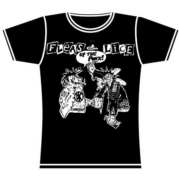 FLEAS AND LICE GIRLS TSHIRT
