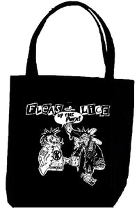 FLEAS AND LICE tote
