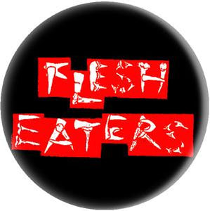 FLESH EATERS button