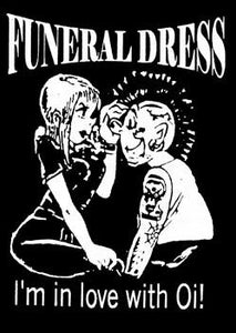 FUNERAL DRESS OI back patch