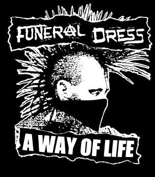 FUNERAL DRESS WAY back patch