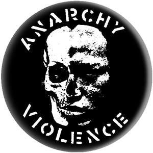 GISM - ANARCHY VIOLENCE big button