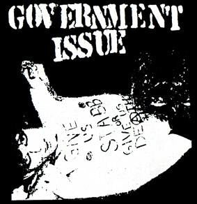 GOVERNMENT ISSUE STAAB back patch