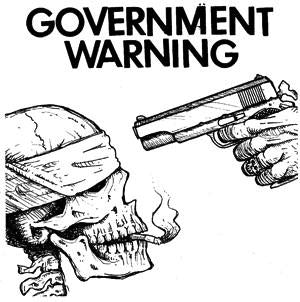 GOVERNMENT WARNING patch