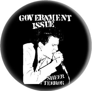GOVERNMENT ISSUE SHEER button