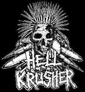 HELLKRUSHER SKULL patch