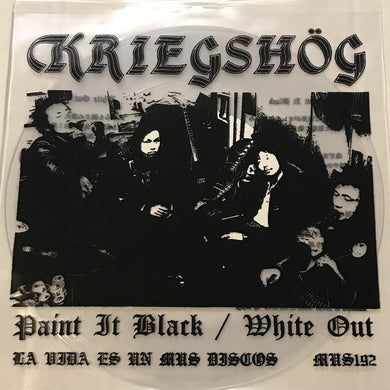 Kriegshog ‎- Paint It Black/White Out NEW 7