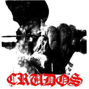 LOS CRUDOS BARB back patch