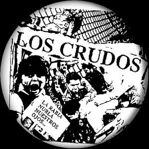 LOS CRUDOS LA RABIA button