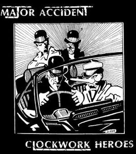 MAJOR ACCIDENT CLOCKWORK back patch