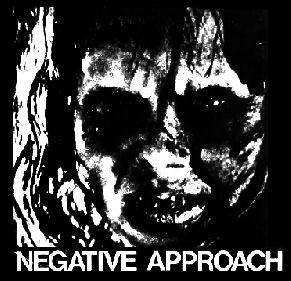 NEGATIVE APPROACH LINDA back patch