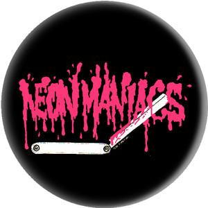NEON MANIACS RAZOR button
