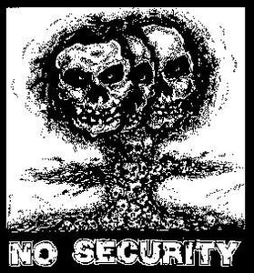NO SECURITY back patch