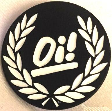 OI ENAMEL BADGE