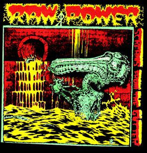RAW POWER SCREAMS back patch