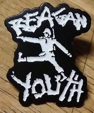 REAGAN YOUTH ENAMEL BADGE