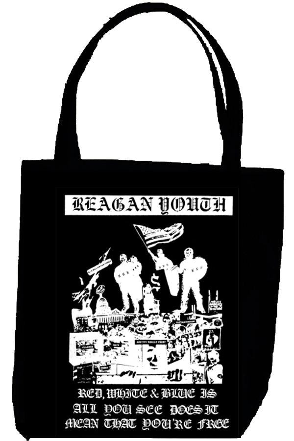 REAGAN YOUTH FLAG tote