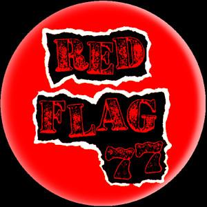 RED FLAG 77 button