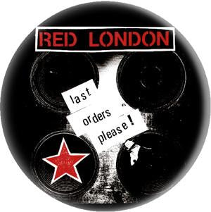 RED LONDON button