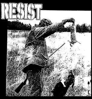 RESIST back patch