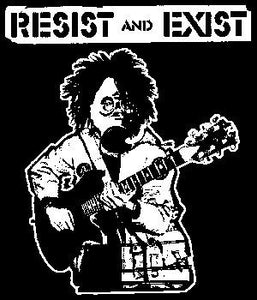 RESIST AND EXIST patch