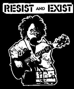 RESIST AND EXIST back patch