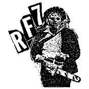 RF7 CHAINSAW sticker