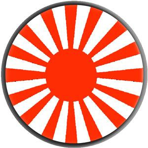 RISING SUN button