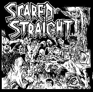 SCARED STRAIGHT back patch