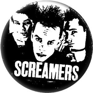 SCREAMERS PIC button