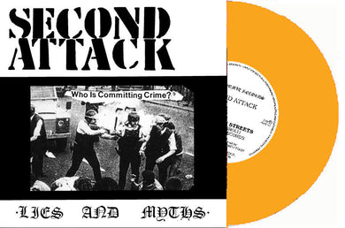Second Attack - Out On The Streets NEW 7