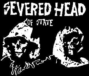 SEVERED HEAD OF STATE patch