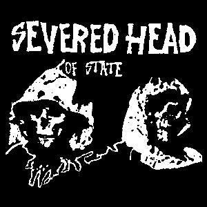 SEVERED HEAD OF STATE sticker