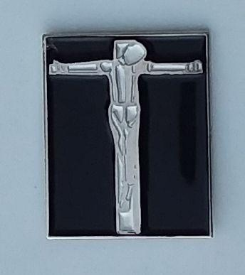 SKINHEAD ENAMEL BADGE
