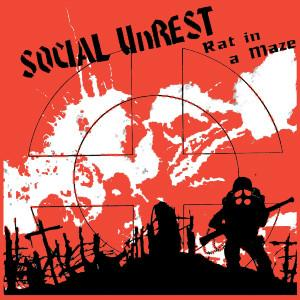 SOCIAL UNREST sticker
