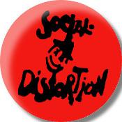 "SOCIAL DISTORTION 1.5""button"